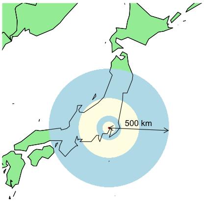 Equidistant points on a map | Freakonometrics